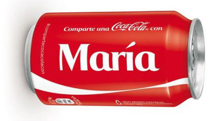 personalización marketing ecommerce cocacola