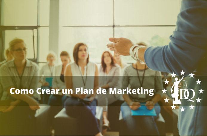 Como Crear un Plan de Marketing