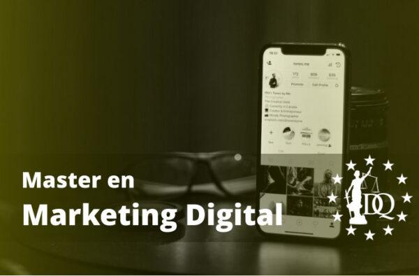 Master en Marketing Digital Online