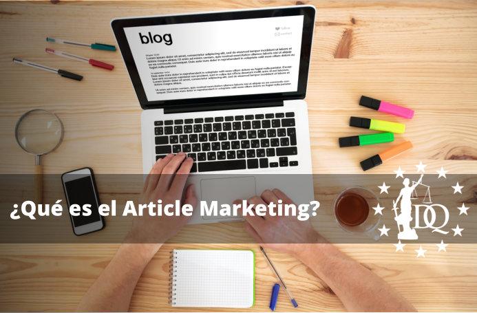 Qué es el Article Marketing